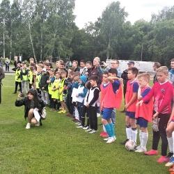 Соревнования                                                   по летнему мини-футболу среди жителей Октябрьского района Города Томска 2021г.