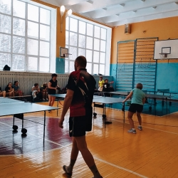 Финальные игры по настольному теннису 24 ноября