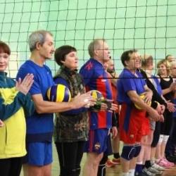 Соревнования по волейболу, в рамках городской спартакиады избирательных округов