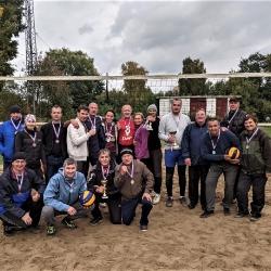 Финальные соревнования по волейболу в зачет Спартакиады городских избирательных округов «Спорт для всех» 40 лети старше