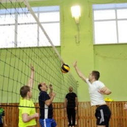 Отборочный этап соревнований по волейболу среди команд Октябрьского района_27