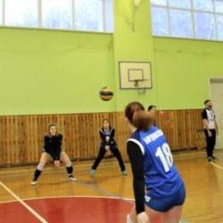 Отборочный этап соревнований по волейболу среди команд Октябрьского района_4