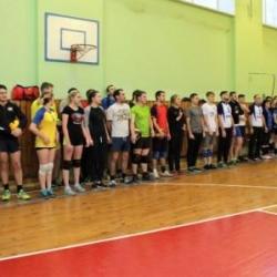 Отборочный этап соревнований по волейболу среди команд Октябрьского района_7