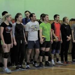 Отборочный этап соревнований по волейболу среди команд Октябрьского района_9